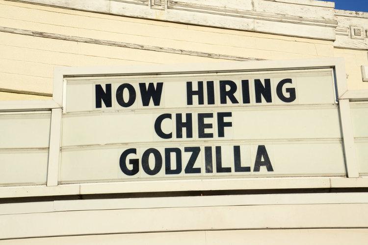 Hiring Chef Godzilla