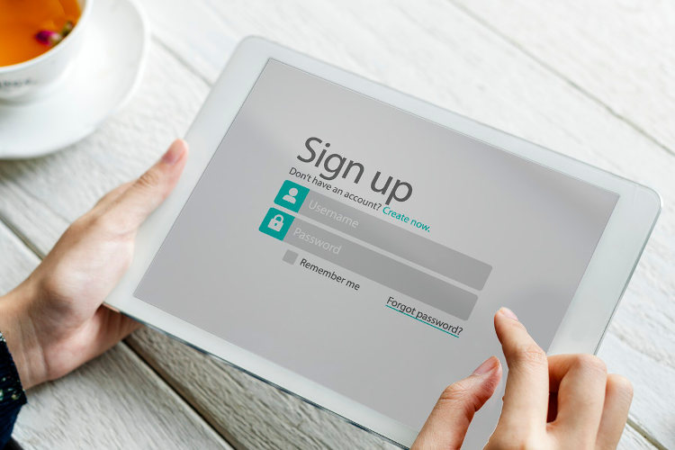 Signup form abandonment